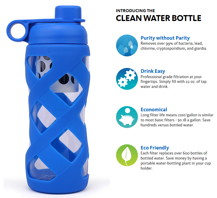 aquasana water bottle